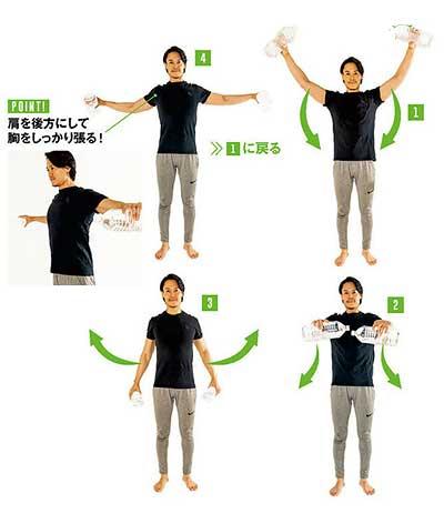 Tシャツが似合う筋トレ7