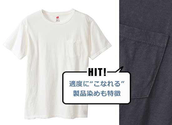 ヘインズ Tシャツ2
