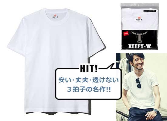 ヘインズ Tシャツ3