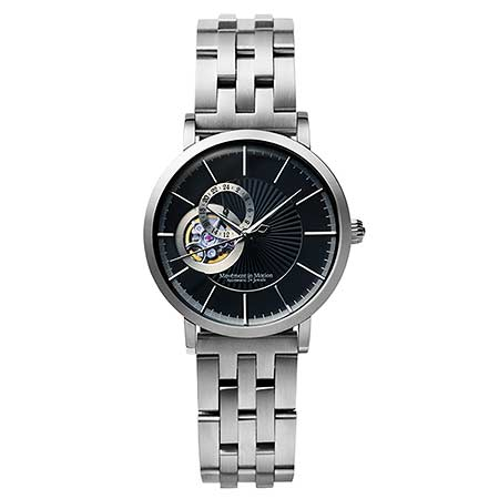 ムーブメントインモーション腕時計2