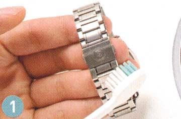 腕時計ステンレスベルト 手入れ