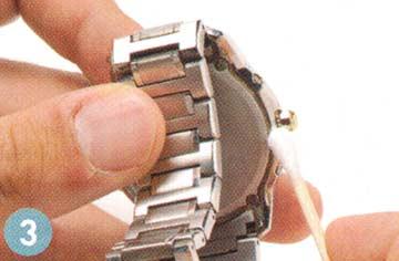 腕時計ステンレスベルト 手入れ3