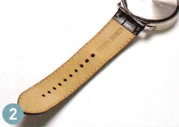 腕時計レザーベルト 手入れ2
