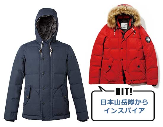 ポールワーズ MANASLU MOUNTAIN JACKET