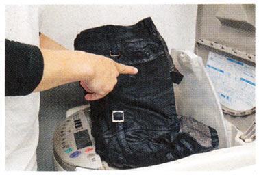 ジージャン洗濯
