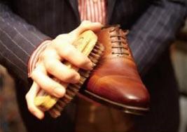 革靴 手入れ2