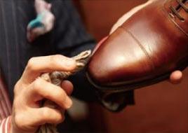 革靴 手入れ8