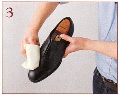 本革靴 手入れ2