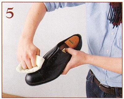 本革靴 メンテナンス2
