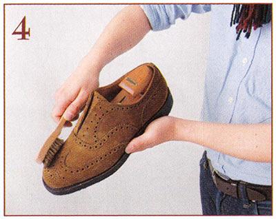 スエード靴 手入れ2