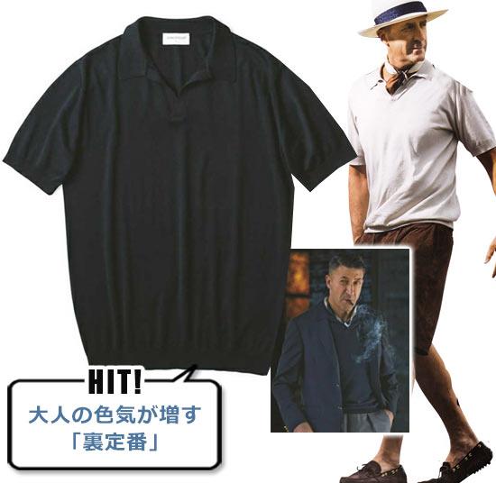 ジョンスメドレー ポロシャツ2