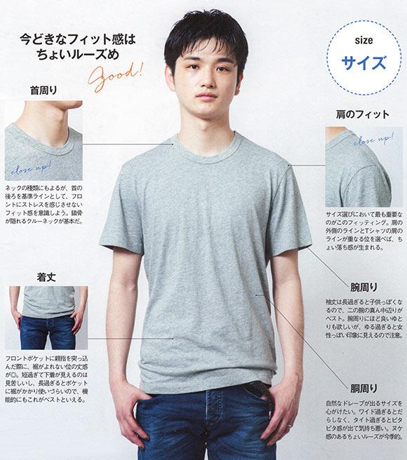 Tシャツ選び方