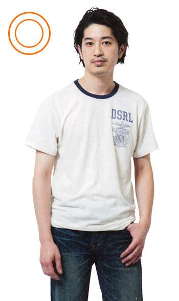 身長低い Tシャツ