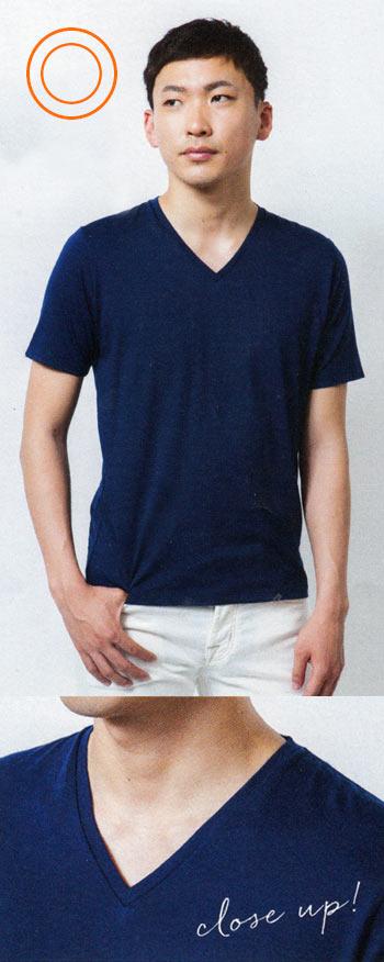 がっちり型 Tシャツ