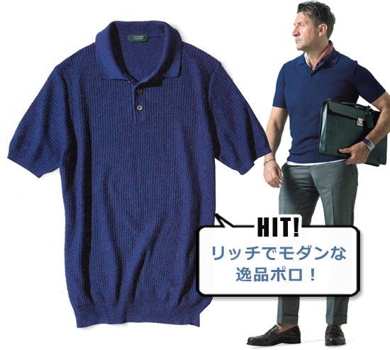 ザノーネ ポロシャツ3