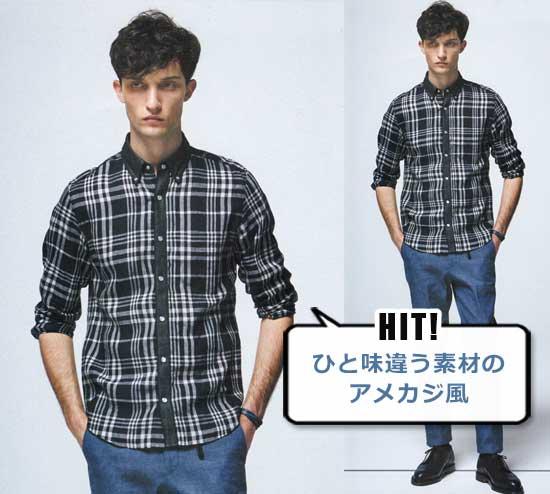 エヌハリウッド シャツ2